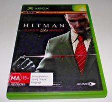 Hitman Blood Money XBOX Original PAL *No Manual*