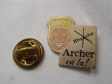 PIN'S AGRICULTURE ARCHER EST LA ! RHYACHO
