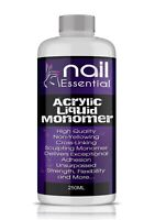 Nail Sculpting Acrylic Liquid Monomer Salon Quality Superior Adhesion 250ML