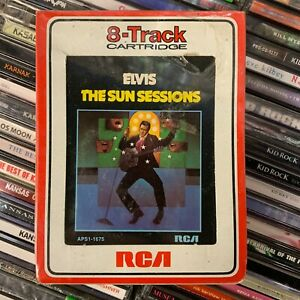 ELVIS PRESLEY // The Sun Sessions [8-Track, NEW] SEALED!!!