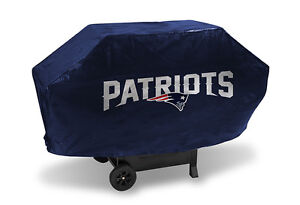 New England Patriots BBQ Grill Cover Deluxe