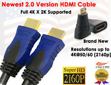 Super Resolution 2.0 Version 4K X 2K 3FT HDMI+Gold HDMI to Mini HDMI F/M Adapter