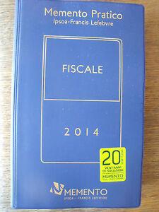 Memento Pratico Fiscale 2014  Ipsoa-Francis Lefebvre SC/3