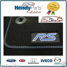 Autentico Mano Sinistra Drive LHD FORD FOCUS RS mk2 set tappetini lusso