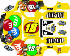 Losi 5ive T Yellow Themed  wrap decals stickers