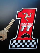 Isle of man tt courses numéro 1 style autocollants TT MANX GP