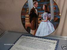 W L George Collector Gone with the Wind Plate 1991