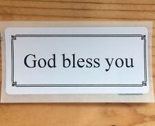 100 God Bless You SEALS LABELS STICKERS