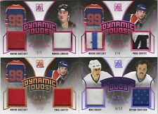 2017-18 In the Game Used Dynamic Duos Wayne Gretzky/Mario Lemieux 2/7