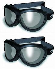 2-Pair Big Ben Motorcycle Sports Goggle Over-Glasses Smoke Lens Anti-Fog Skiing