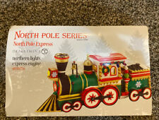 """Department 56  North Pole """"Northern Lights Express Engine"""" Accessory"""