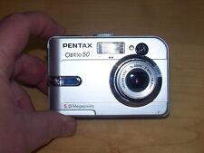 Pentax Optio 50 5.0MP Digital Camera - Silver