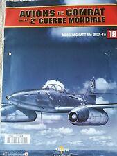 FASCICULE ALTAYA AVIONS DE COMBAT 2E GUERRE MONDIALE MESSERSCHMITT Me 262A-1a