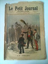 >Le petit Journal 11/02/1893 Le Dégel / Un protecteur