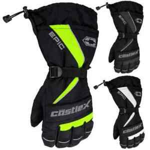 Castle X Epic Mens Snowmobile Skiing Winter Sled Snowboard Gloves