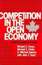 Competition in an Open Economy: A Model Applied to Canada (Economic Studies), Ca