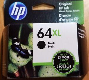 HP 64XL Black Original Ink Cartridge  List $41.99 SALE $33.99  Exp 6/23