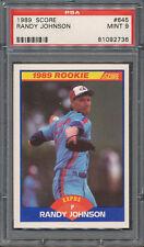 1989 Score Randy Johnson Montreal Expos #645 Baseball Card