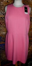 Peach Colour Fully Lined NEXT Formal Dress Size 18 BNWT Tag Price is £45.00