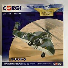 Corgi Westland Wessex AA37611 escala 1:72 HC.2 XR500/A 78 Escuadrón RAF