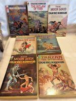 Burroughs Ace F Series Vintage SciFi 5 Book Lot - Krenkel Frazetta