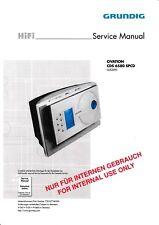 Service Manual-Anleitung für Grundig CDS 6580 SPCD Ovation