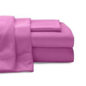 Baltic Linen 0361128490 Super Soft 100 Percent Cotton Jersey Sheet Set Bright...