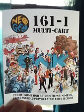 161-1 Multicart Neo Geo Mini Arcade Marquee