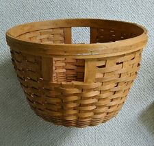 "Longaberger Corn Basket With Liner 17""x11"" 1994"