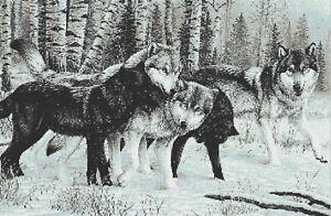 WOLF PACK - CROSS STITCH CHART