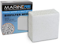 MarinePure Ceramic Bio Media Filter Block CerMedia Aquarium Filter