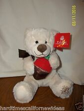 EDIBLE ARRANGEMENTS CHOCOLATE COVERED STRAWBERRY BERRY LOVED BEAR  PLUSH W TAG