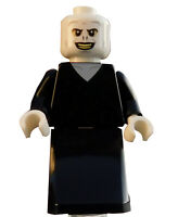 Lego Voldemort weißer Kopf Minifigur Figur Legofigur Harry Potter hp197 Neu