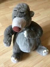 "VTG Walt Disney Store 12"" Baloo Plush Stuffed Bear Jungle Book"