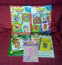 Memories/PCA Intl Lot of 5 Scrapbook Them Kits Christmas About Me Birthday Ann.
