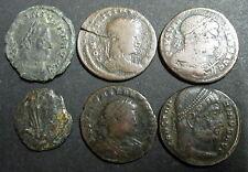 LOT DE 06 CENTENIONALIS ou NUMMUS - EMPEREUR CONSTANTIN I (306-337) - N° 2