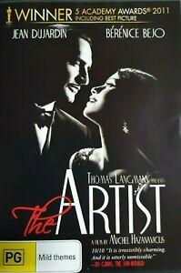 The Artist DVD (Pal, 2012) FREE POST