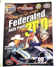 Nashville Superspeedway Official NASCAR Souvenir Race Program June 11-12, 2004 N