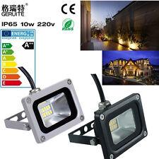 10W LED SMD Flood Light Cool/Warm White Spot light Garden Outdoor Lamp IP65 220V