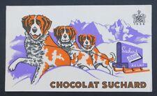 BUVARD CHOCOLAT SUCHARD Milka 1826 Saint-Bernard chien dog Blotter Löscher
