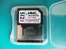 Kingston RS MMC mobile 512 MB, mit Adapter wie MMC-Card,+Box, gebraucht, Nr. 670