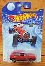 Hot Wheels 2014 HOLIDAY HOT RODS 8/8 VOLKSWAGEN GOLF RED (A+/A-)