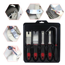 5pcs Pry Tool Set Plastic & stainless Steel Panel Removal Door Car Modification