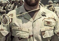 IRAQ SEAL SPECIAL WARFARE ST3 AMERICAN PATRIOT SNIPER SEAL TRIDENT SSI + US FLAG