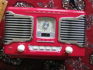 Excellent Teac SL-D80 AM FM Stereo w/ Clock Adjust & Sleeper ComPact CD Lot 69