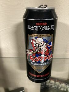 Iron Maiden Trooper Beer Can - One Can