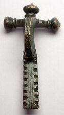 100-300AD Ancient Roman Bronze Crossbow Fibula Brooch Artifact circa i56162