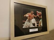 Amir Khan Signed Framed Photo Autograph - Xmas Gift Boxing