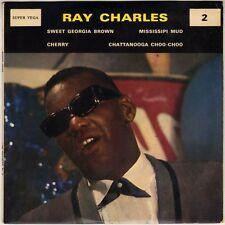 "RAY CHARLES ""SWEET GEORGIA BROWN"" 60'S EP  VEGA SV 2"