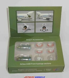 NEW 1:400 JC WINGS FUSELAGE SET AIRPORT ACCESSORIES AIRBUS A320-200 JCGSESETB